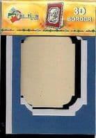 Creation By TBZ Card Making Decoupage 3D Border Mount 521144